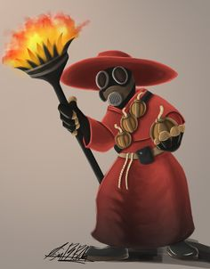TF2 Medieval - Pyro by =Folji on deviantART