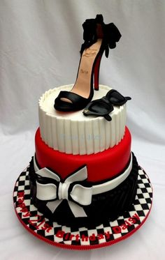 The Most Creative Cake Design Ideas High Heel Cakes, Shoe Cakes, Pretty Cakes, Beautiful Cakes, Amazing Cakes, Unique Cakes, Creative Cakes, Fondant Cakes, Cupcake Cakes