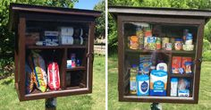 Little Street Pantry Where People Can Leave Products For Those In Need - http://eradaily.com/little-street-pantry-people-can-leave-products-need/