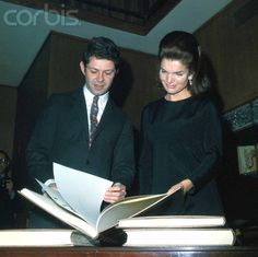 Franco Ricci Handing Mrs. John Kennedy a Copy of Pope Paul VI's Address  Franco Maria Ricci with Mrs. John F. Kennedy at a reception where he gave her the second copy of a special limited edition of Pope Paul VI's 1965 address to the United Nations.  Date Photographed:January 30, 1967,❤❤❤❤   http://en.wikipedia.org/wiki/Jacqueline_Kennedy_Onassis