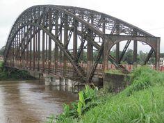 Cameroon - Japoma Bridge, Sanaga River