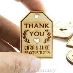 Wedding Favor Gift Tag Wooden Tags Vintage 6 3 Personalized Unfinished Engraved Miniature With Twine Natural Woode - PhotoFond.org Wedding Gifts For Guests, Wedding Favours, Wood Tags, Guest Gifts, Jute Twine, Laser Cut Wood, Vintage Tags, Laser Engraving, Gift Tags