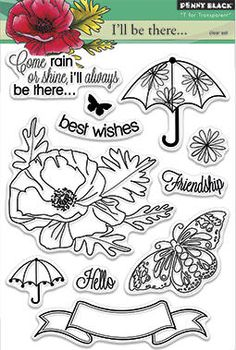 New Penny Black 'Bring on the Happy' stamp collection now in stock at Crafts U Love http://www.craftsulove.co.uk/pennyblack.htm#590