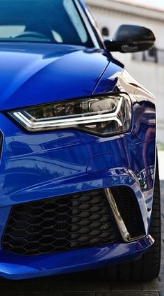 Audi Sepang Blue C7