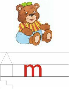 Children Activities, Winnie The Pooh, Alphabet, Disney Characters, Fictional Characters, Teddy Bear, Animals, Toddler Activities, Infant Activities