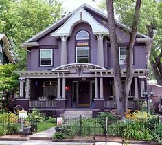 I will live in a purple house before I die. BUCKET LIST