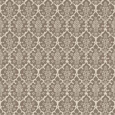 Burley | 5008036 in Berber Brown | Schumacher Wallcovering by Veere Grenney