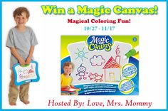 Love, Mrs. Mommy: Magic Canvas Colorful Surprise Giveaway!