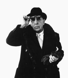 Richard Avedon - Igor Stravinsky, composer, January 8, 1959, New York ✖️More Pins Like This One At FOSTERGINGER @ Pinterest✖️