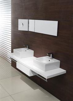 GSI ceramic | Traccia, washbasin 40x40