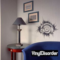 Biomechanical Wall Decal - Vinyl Decal - Car Decal - DC 014