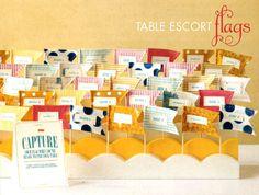 DECORATION: Table Escort Tags