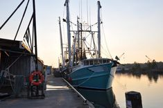 Because of its history in the fishing industry, Bayou La Batre is nicknamed the 'Seafood Capital of Alabama.' This historic fishing village is a must visit. Olivia Song, Shrimp Boat, Frozen In Time, Sweet Home Alabama, Seaside Towns, Fishing Villages, Hiking Trails, Small Towns, Vacation Spots