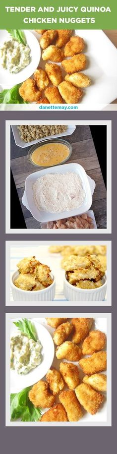 Yes, chicken nuggets CAN be healthy! Try this easy clean recipe and taste for yourself.  These are chicken nuggets you can feel good about feeding to your kids!