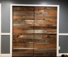 Special Reclaimed Wood Barn Door Sliding Rustic Barnsley Diy Barnegat Nj Barnstaple Beam Table Barnet - The newest door model and cool just have us Reclaimed Wood Paneling, Rustic Doors, Reclaimed Barn Wood, Rustic Barn, Sliding Barn Door Track, Sliding Wood Doors, Wood Barn Door, Barn Doors, Barn Tin