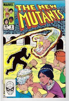 The New Mutants #9 Nov 1983 Marvel Comic Book Arena Nova Roma