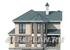 """🏠 """"Классика""""- двухэтажный особняк с эркером: цены, планировка, фото. Купить готовый проект Gazebo, Catalog, Outdoor Structures, Kiosk, Pavilion, Brochures, Cabana"""