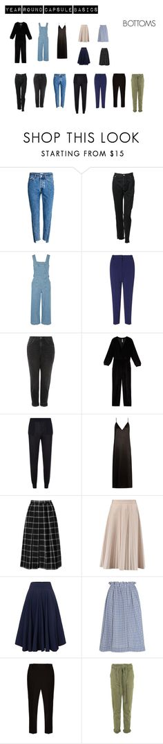 """Year round capsule basics"" by rougejud on Polyvore featuring moda, H&M, Vetements, Current/Elliott, MARC CAIN, Topshop, Melissa McCarthy Seven7, STELLA McCARTNEY, Raey y Joseph"