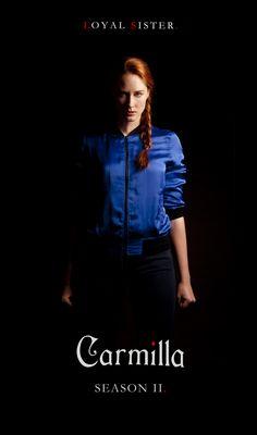 Sharon Belle as Danny Laurence. Carmilla Season 2.