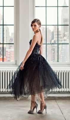 Sparkle dress / Donna Karan