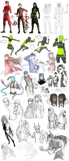 Sketch dump 10 by Namonn on DeviantArt