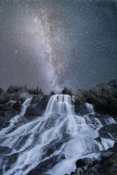 ✯ Hardangerfjord at night