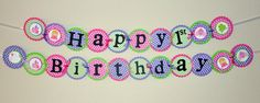 cute birthday banner idea