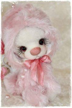 Pink Pearl by By Sadovskaya Tatiana   Bear Pile
