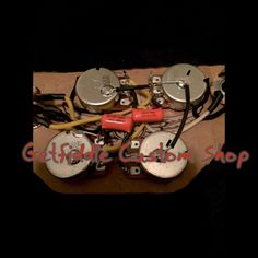image result for wiring diagram for a gibson les paul with twin Gibson Sg Wiring Harness sg 50's wiring harness gibson epiphone 022 015 cap bourns pots switchcraft gibson sg wiring harness