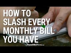 How to Slash Your Monthly Expenses | Money Talks News