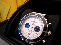 A gents stainless steel Breitling SuperOcean Heritage Limited Edition Chronograph circa 2011. (no# 526 0f 1000)