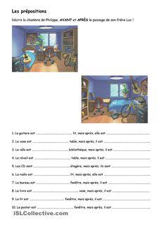 prépositions