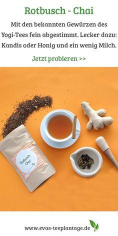 Earl Grey Tee, Rooibos Chai, Tea Time, Teas, Marketing, Drinks, Inspiration, Honey, Milk