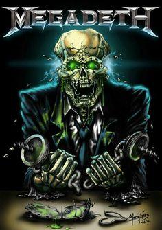 Megadeth: Vic Rattlehead