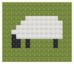 FREE downloadable counted cross-stitch mini-pattern from Thomas Beutel Original Designs.