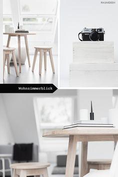 Du Suchst Nach Schlichten Möbeln Für Kleine Räume? Auf RAUMiDEEN Zeige Ich  Dir Holzmöbel,
