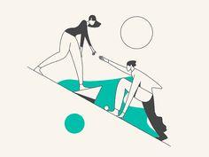 Psychological Support via Illustration by Timo Kuilder | Trendland