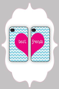 I love this case so much. When me and my BFF get a IPhone I want that! Best Friend Cases, Bff Cases, Friends Phone Case, Best Friends, Bestest Friend, Friends Forever, Cool Iphone Cases, Cool Cases, Cute Phone Cases