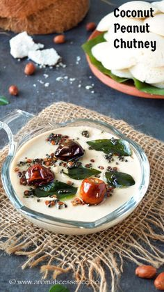 step-by-step recipe with pictures to make coconut peanut chutney. Pictorial recipe to make coconut peanut chutney for idli and dosa. Peanut Chutney, Coconut Chutney, Coconut Curry, Raw Peanuts, Idli Recipe, Green Chilli, Chutney Recipes, Roasted Peanuts, Recipe Steps