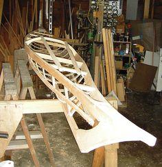 Building a Skin-on-Frame Kayak