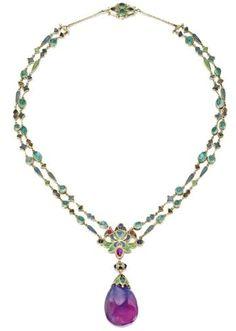 Tiffany & Co Art Nouveau necklace