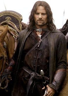 Viggo Mortensen as Aragorn in 'The Lord of the Rings' trilogy (2001-2003).