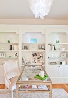 White on White. 20 Beautiful Home Offices | Bright Bold and Beautiful
