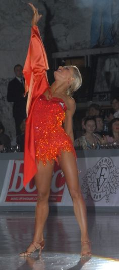 "Yulia Zagoruychenko Dresses | Home :: Client Gallery :: Women's show dance costume ""Victory"""
