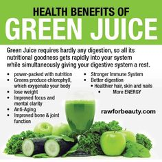 Natural Cures Not Medicine: Health Benefits Of Green Juice