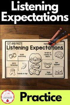 Start back to school by teaching your kindergarten and first grade students the listening expectations of the classroom. Includes resources to teach your students how to be good listeners at school. Tie in with your PBIS school wide rules and enhance your classroom management. #classroommanagement #kindergarten #firstgrade Calm Classroom, Classroom Behavior, Classroom Environment, First Grade Teachers, First Grade Classroom, Classroom Organization, Classroom Management, First Day Of School, Back To School