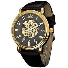 harwish SEWOR Herren Mechanische Leder Armbanduhr - http://uhr.haus/harwish/harwish-sewor-herren-mechanische-leder