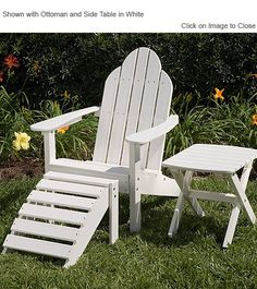 Little Cottage Company Classic Poly Lumber Adirondack Chair