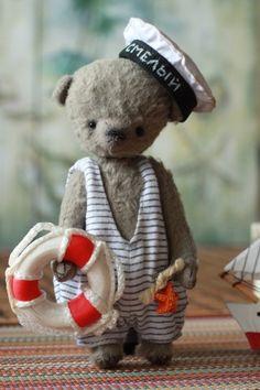 Teddy Bears handmade. Fair Masters - handmade. Buy Bear Bim. Handmade. Gray, a teddy bear handmade by Tanya Moskalenko