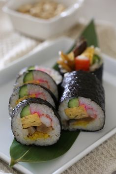 Makizushi, Japanese Sushi Rolls